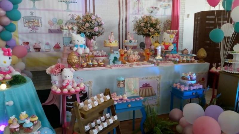 Confeitaria da Hello Kitty