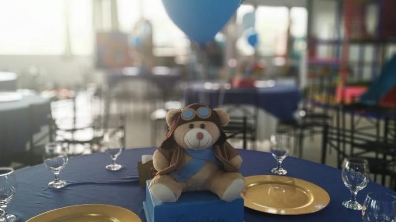 Ursinho baloeiro aviador